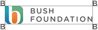Bush Foundation logo with spacing