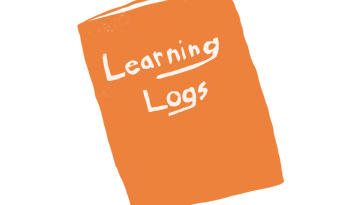 Learning log illustration