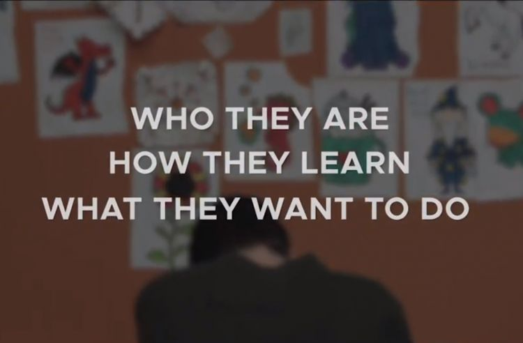 Who they are; how they learn; what they want to do.