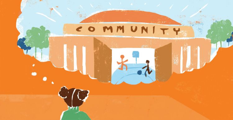 illustration of a community idea
