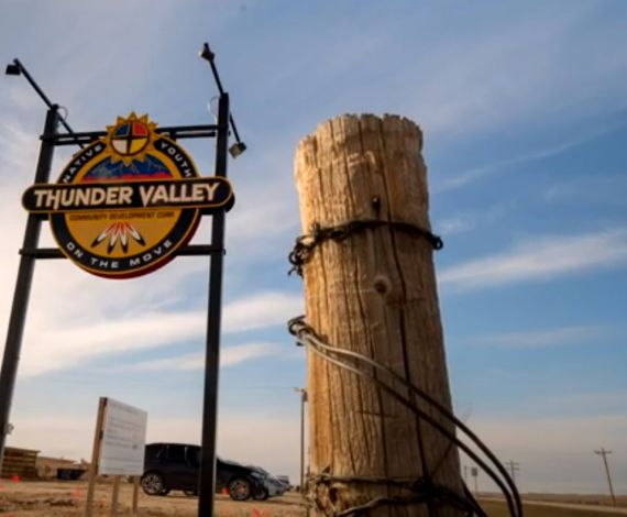 Thunder Valley sign