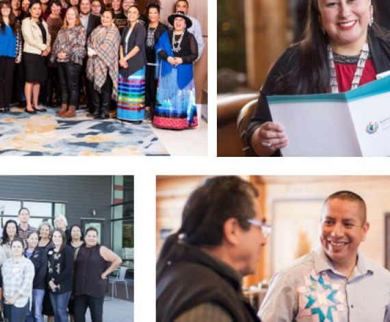 images of people involved in the Native Nations Rebuilders Program