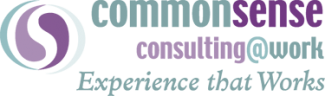 CommonSense Consulting@Work logo